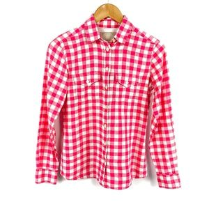 Banana Republic Checkered Soft Wash Shirt 3614